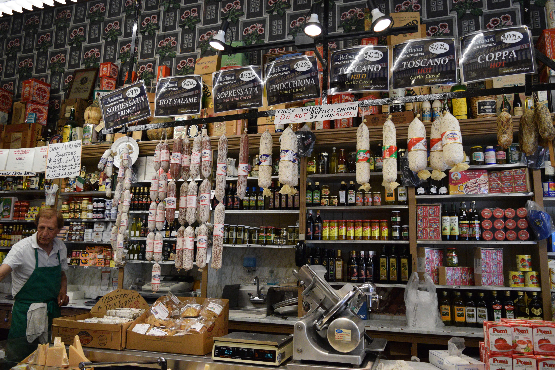 13. Italian deli