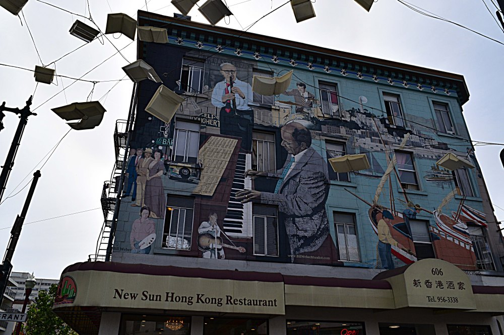 20. The North Beach Jazz Mural